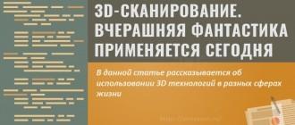3D-сканирование