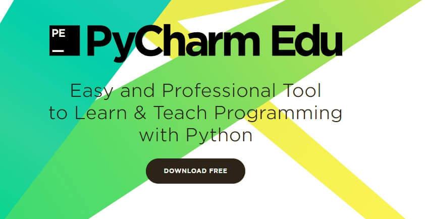 установка PyCharm Edu